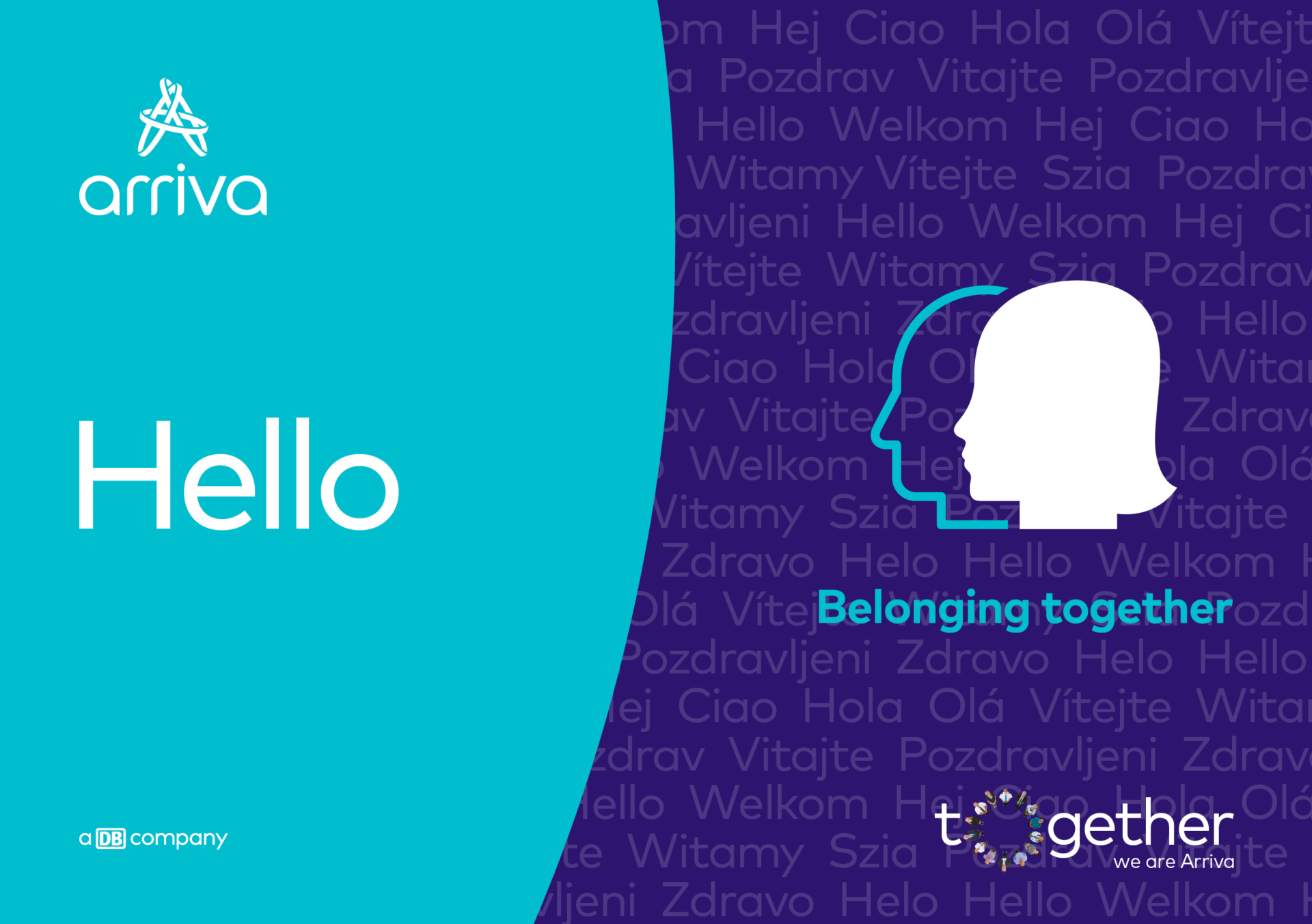 Our employer brand Together we are Arriva describes Arriva as an employer. While we have many autonomous businesses in 14 different countries, there are many ways in which we are connected and there is real strength, value and a competitive advantage to us operating together as a group.