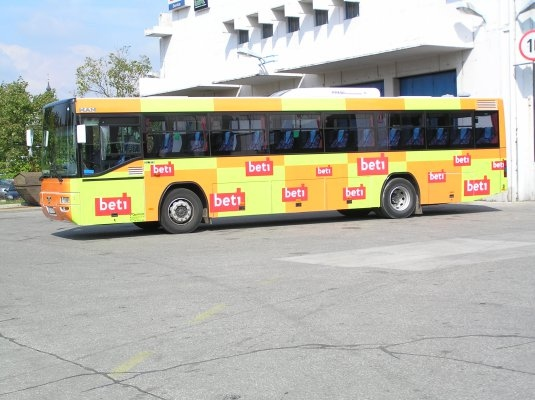 A successful communication strategy involves different requirements. Often not all the media can be included when planning the campaign. Imagine that at your next advertising campaign your slogan will move, day by day, across Slovenia, thru a particular region or city, on Arriva Slovenia buses.