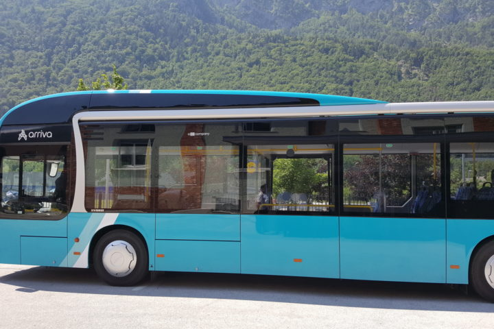 Buses of City transport Jesenice connect the surroundings and settlements of Jesenice with the railroad station, hospital, factories (Acroni, Sumida …), the are of Stara Sava (market) and city centre. Bus transport is performed all year, from Monday till Sunday. During morning and afternoon peak hours timetables are adjusted to travel habits of employees and school pupils. During that time most of lines are operating on a 30-minute interval. Outside the peack hours buses drive at least every hour.