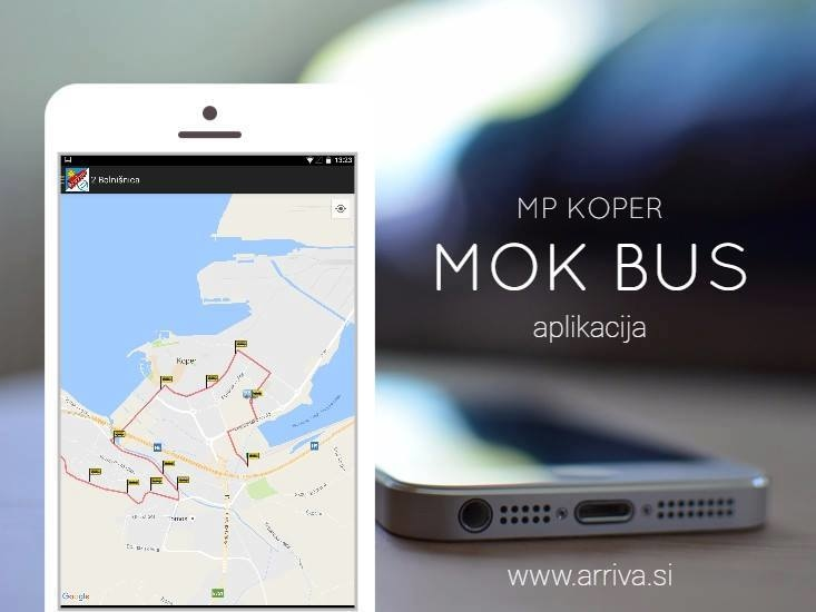 Users of public city passenger transport can use the REAL TIME BUS SYSTEM of municipality Koper that enables you real-time data on bus arrival times.