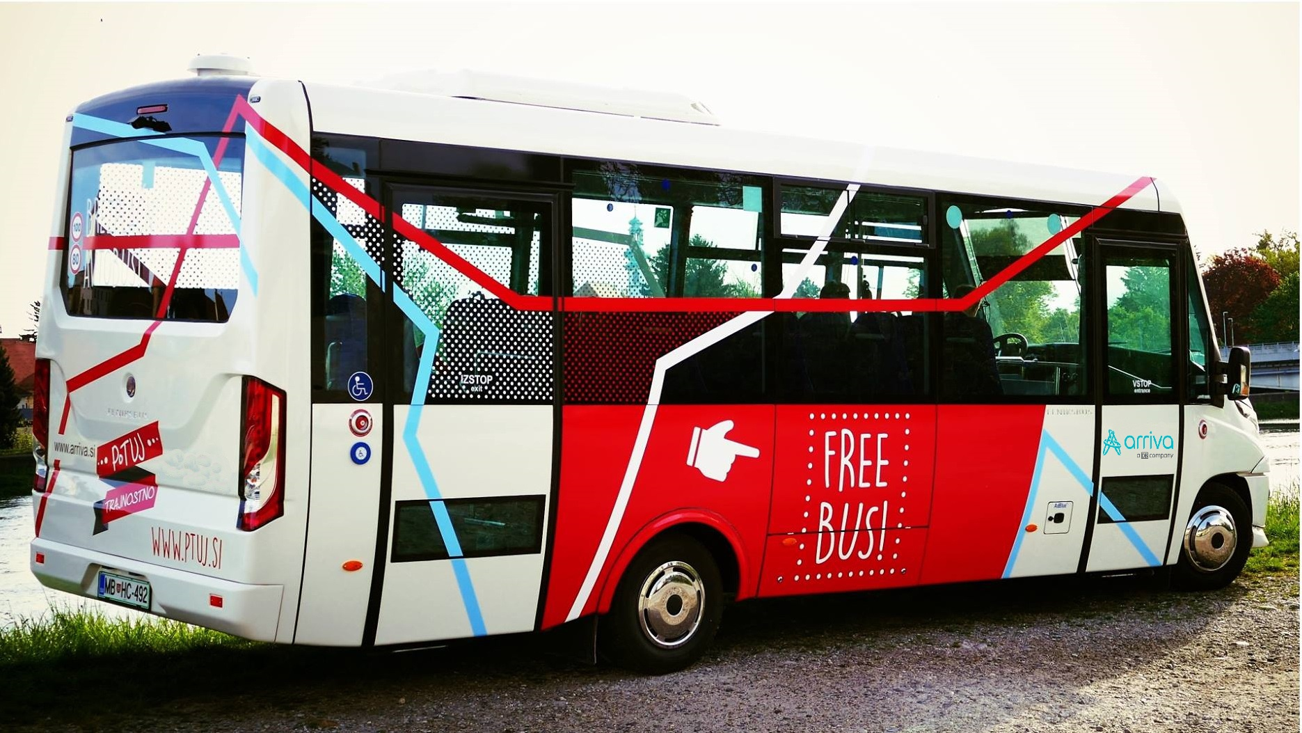 From 2015 citizen as well as tourist can travel in city Ptuj with a free of charge city bus. Municipality Ptuj is by this promoting sustainable mobility and wants to offer public transport also to those who do not have own means of transport or want to lower the number of trips with personal cars.