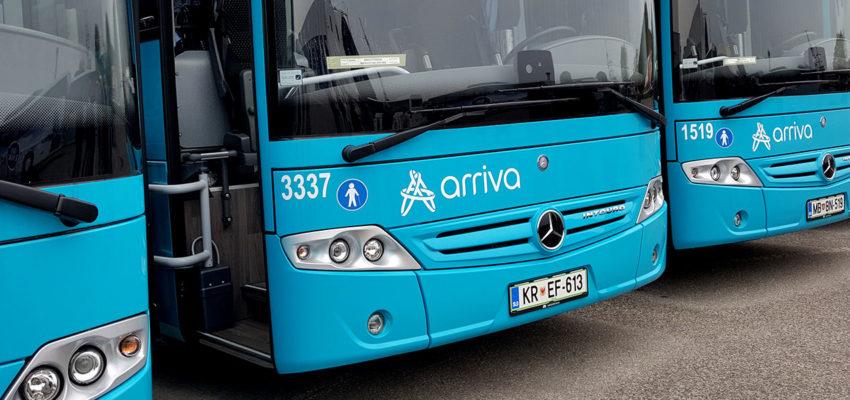 V času zimskih počitnic se začasno postajališče pri OŠ Trboje ukine (se ne uporablja). Avtobusi v času od 25. 2. do 2. 3. ustavljajo in obračajo pri uvozu v vas Žerjavka. Od ponedeljka 4. 3. dalje pa bo spet vzpostavljeno začasno postajališče pri OŠ Trboje, tako kot pred 25. 2.