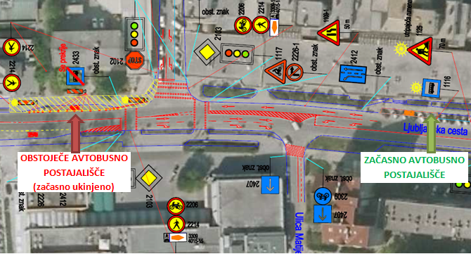 Dear passengers please be informed that due to construction works in centre of Domžale, from 5. till foreseeable 10. 9. 2019, bus stop at Domžale in direction towards Ljubljana will temporary not be operated.