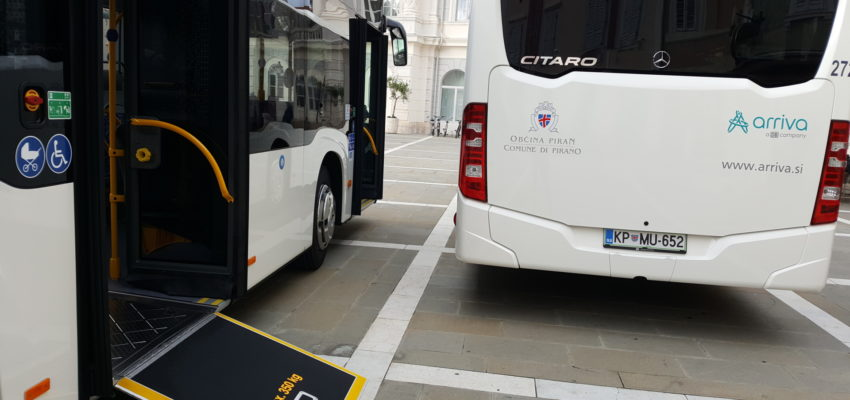 Arriva and municipality Piran have up-dated rules for passengers' transport with buses of city transport and ask passengers to follow those. Most of the novelties are connected with reintroduction of payment that will be reintroduced on 1st June.