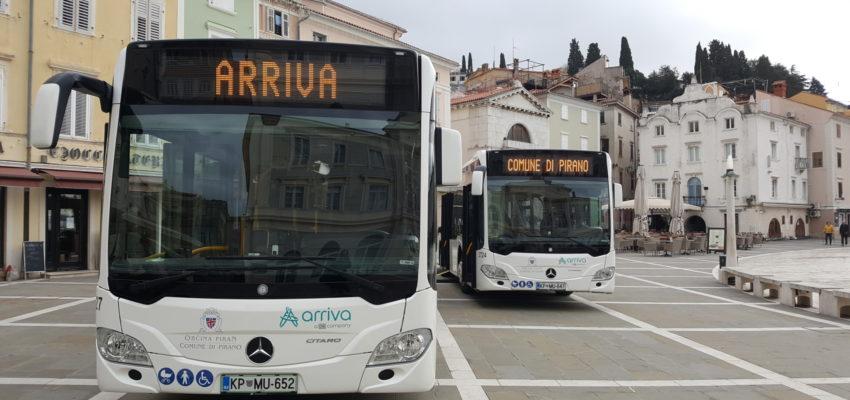 Obveščamo vas, da smo skupaj z Občino Piran sprejeli odločitev, da se zaradi širjenja novega virusa COVID-19 in razglašene epidemije od ponedeljka, 16. 3. 2020 na vseh mestnih avtobusih začasno ukine plačevanje z gotovino.