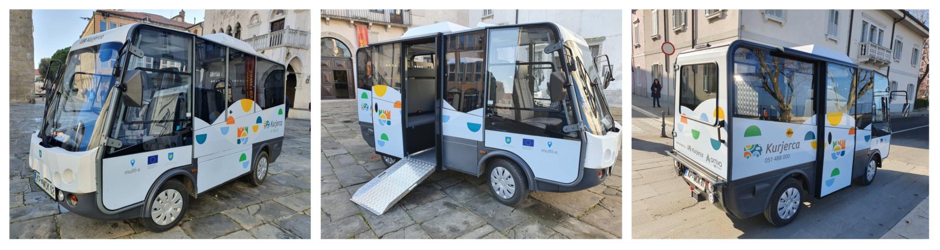 Na koprske ulice so danes zapeljala tri manjša vozila na električni pogon, ki bodo prebivalkam in prebivalcem mesta, še zlasti starejšim in gibalno oviranim, olajšala dostop do doma in javnih storitev ter skrajšala razdalje med pomembnejšimi cilji v mestni peš coni. Kurjerce, kot smo jih poimenovali, bodo po mestu vozile vsak dan med 8. in 18. uro, vožnja z njimi bo za vse uporabnike brezplačna.