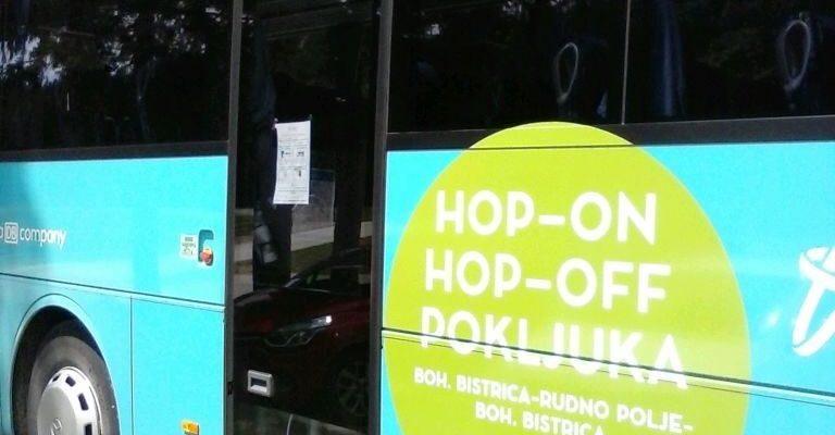 V času poletne sezone vas vsak dan, na relaciji Bohinjska Bistrica ŽP-Rudno polje-Bohinjska Bistrica ŽP, brezplačno zapelje Arriva Hop-On Hop-Off avtobus. Avtobus omogoča tudi prevoz koles, saj je opremljen z nosilci za kolesa (max 6 koles).