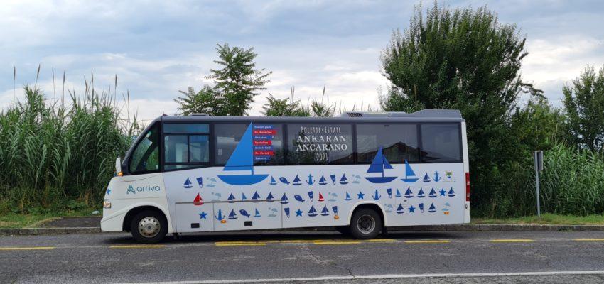 Obveščamo vas, da bo Občina Ankaran letos potnikom na poletni linijiLazaret meja–Hrvatini K, omogočala brezplačen avtobusni prevoz v obdobjuod 24. 6. do 31. 8. 2021.