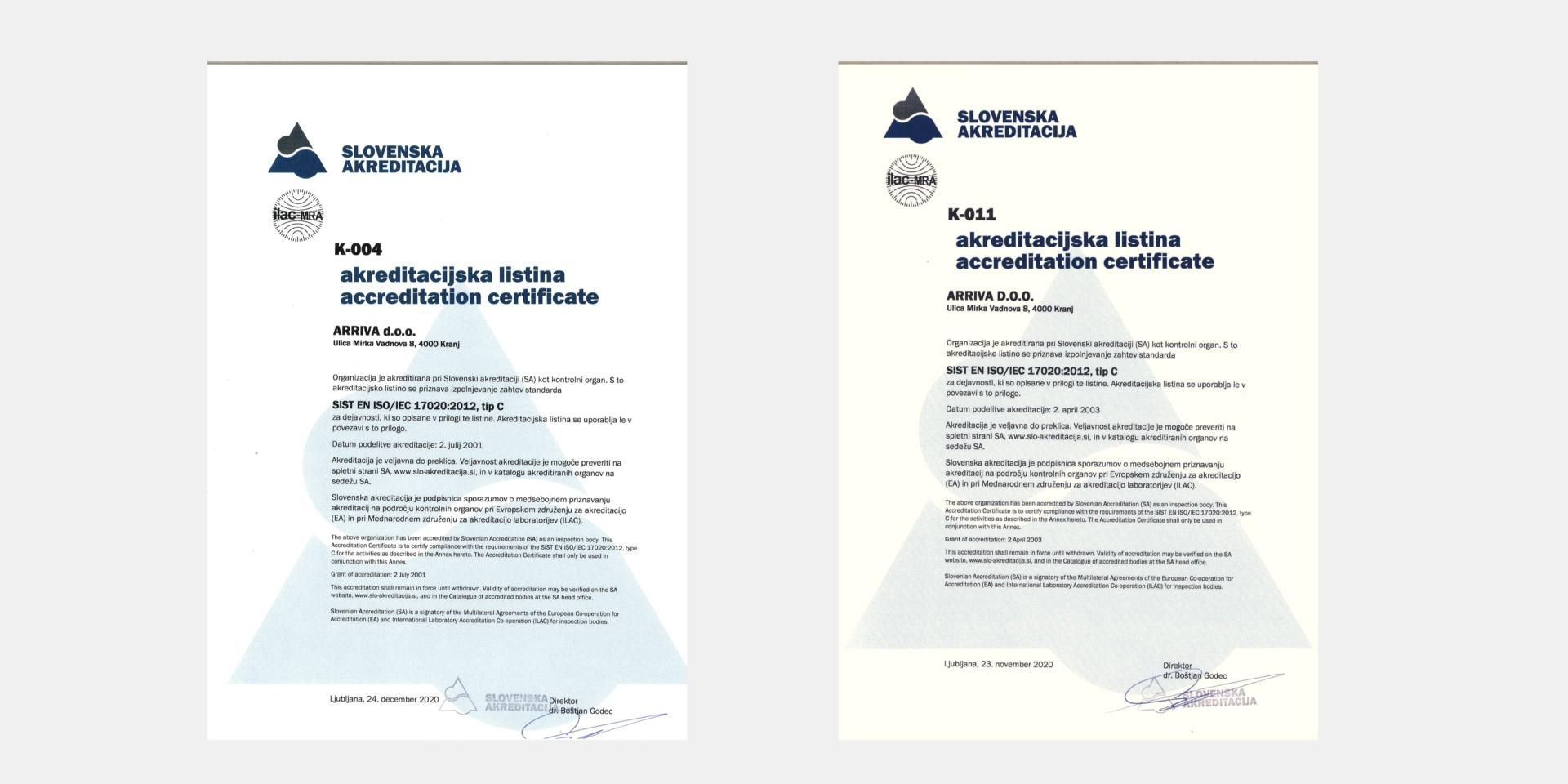 Kakovost storitev in lastnih turističnih produktov ter nenehno izboljševanje ključnih procesov sta strateški usmeritvi skupine Arriva Slovenija. S sistematičnim pristopom želimo stalno presegati zahteve odjemalcev in dosegati zastavljene cilje poslovanja.